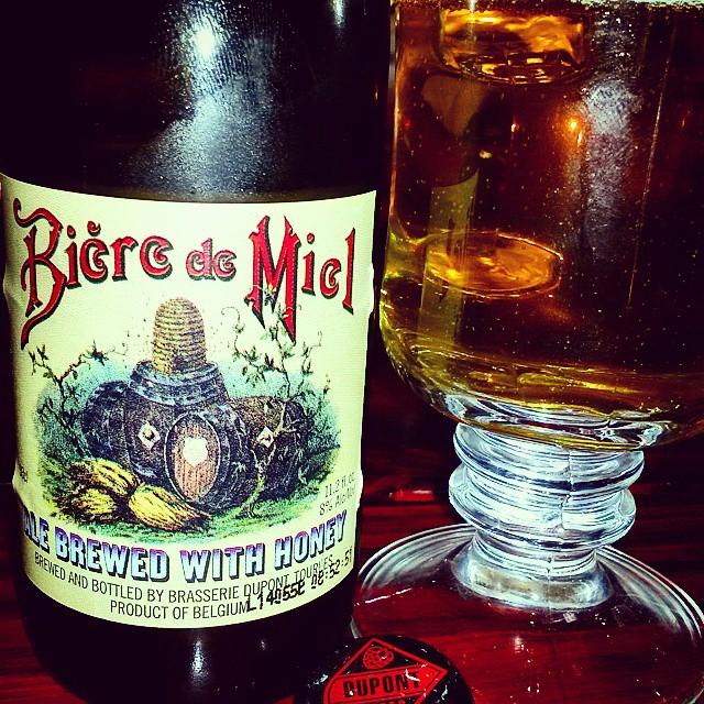 Dupont Biere de Miel vía @valdorm en Instagram
