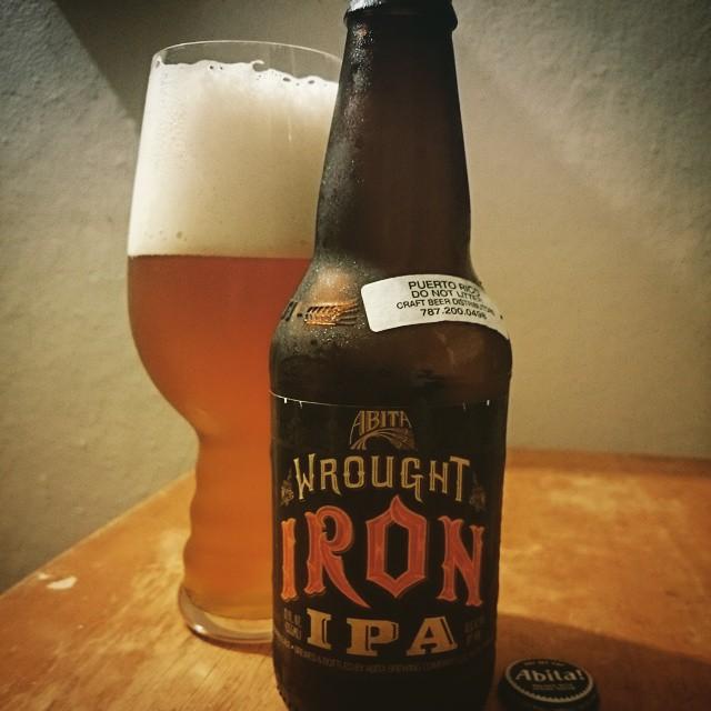 Anita Wrought Iron IPA vía @adejesus80 en Instagram