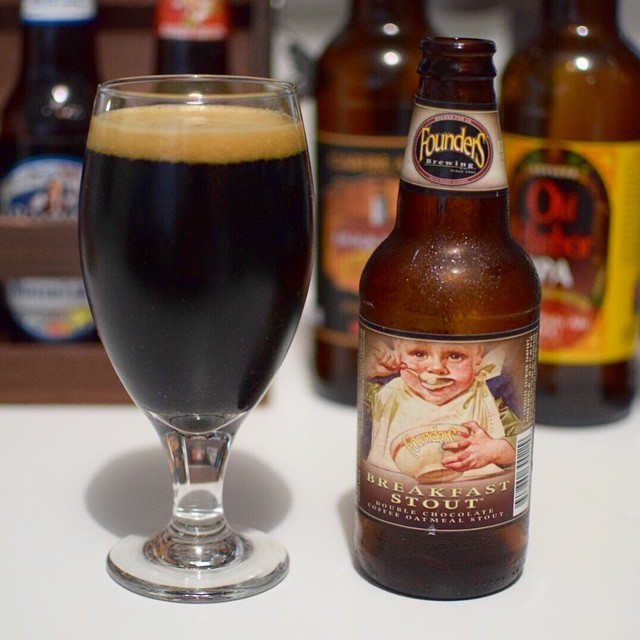 Founders Breakfast Stout vía @g_i_o_v_a en Instagram