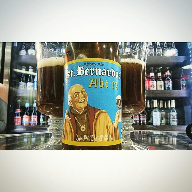 St. Bernardus Abbey Ale vía @valdorm en Instagram