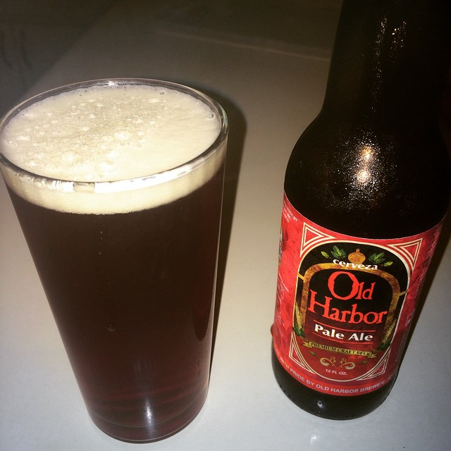 Old Harbor Pale Ale vía @abdielopr11 en Instagram