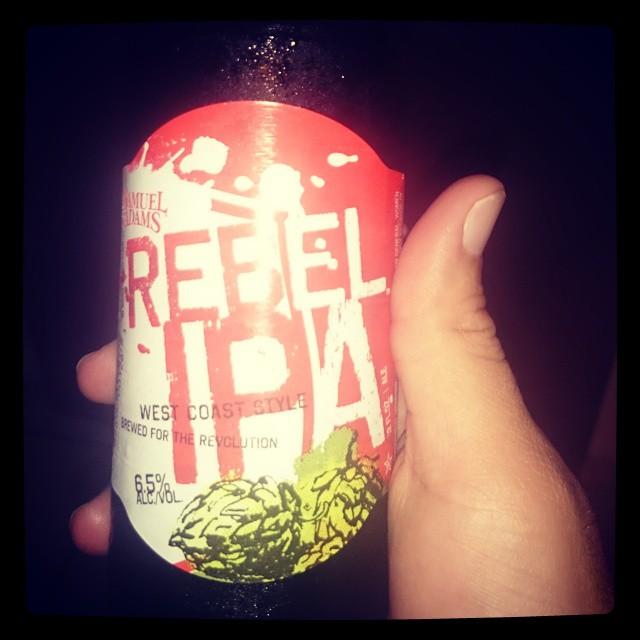 Samuel Adams Rebel IPA vía @adejesus80 en Instagram