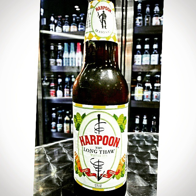 Harpoon The Long Thaw White IPA vía @valdorm en Instagram