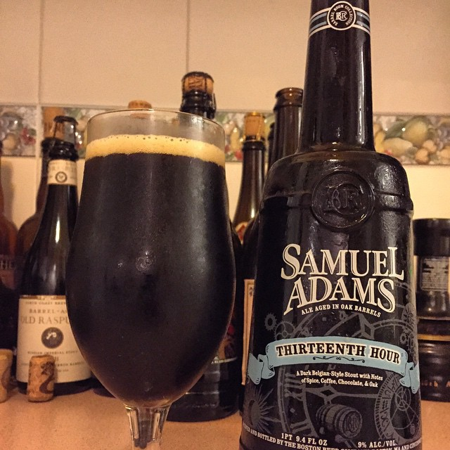 Samuel Adams Thirteenth Hour vía @dehumanizer en Instagram