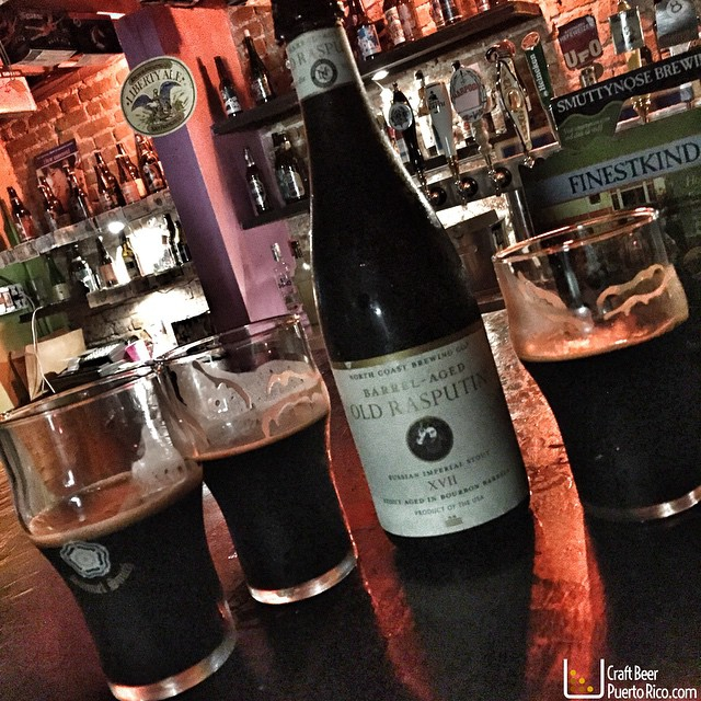 Barrel-aged Old Rasputin Imperial Stout XVII