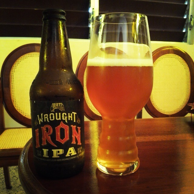 Abita Wrought Iron IPA vía @cracker8110 en Instagram