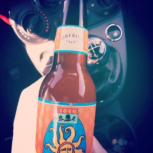 Bell's Oberon Ale vía @adalbertoq en Instagram