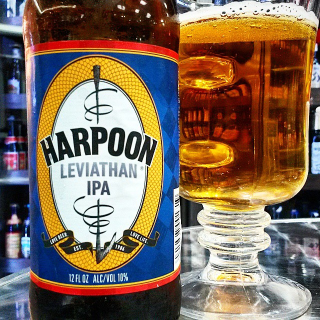 Harpoon Leviathan IPA vía @valdorm en Instagram