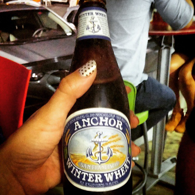 Anchor Winter Wheat vía @mybeerlady en Instagram