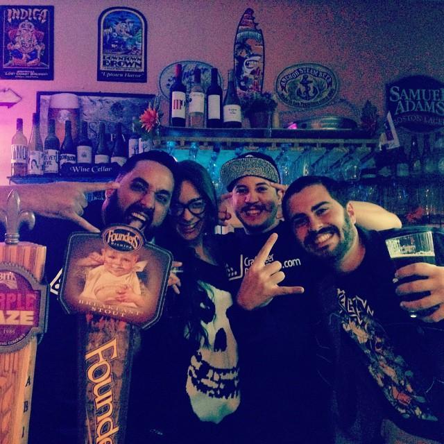 De aniversario en Aibonito Beer Garden vía @elcarli en Instagram