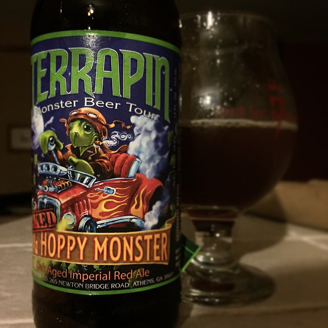 Terrapin Oaked Big Hoppy Monster vía @j_sanmurphy en Instagram