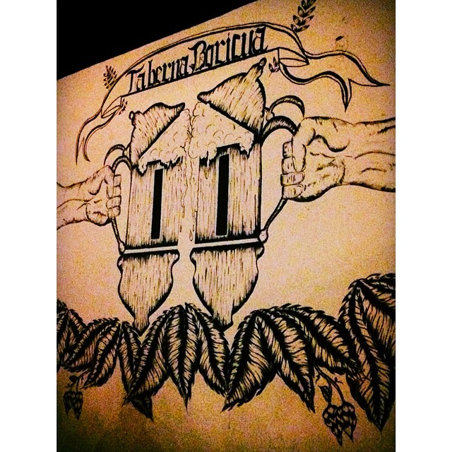 De aniversario en Taberna Boricua vía @liliana_cs en Instagram