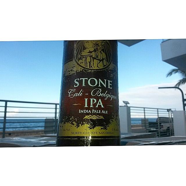 Stone Cali-Belgique IPA vía @valdorm en Instagram