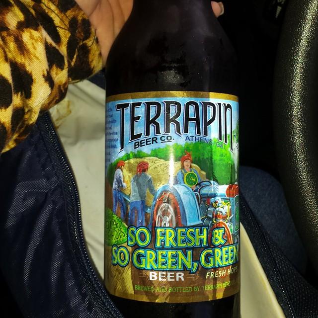 Terrapin So Fresh & So Green IPA vía @karayaboricua en Instagram