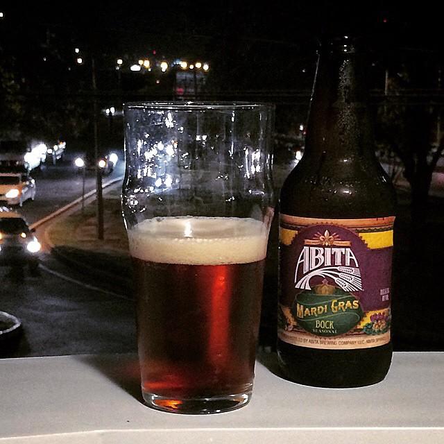 Abita Mardi Gras Bock vía @eegueits en Instagram