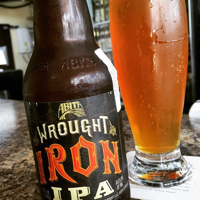 Anita Wrought Iron IPA vía @thecraftbeergal en Instagram