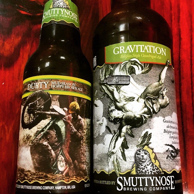 Smuttynose Durty y Gravitation vía @shell65infanteria en Instagram