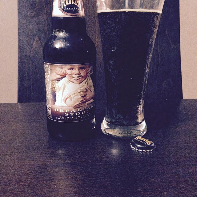 Founders Breakfast Stout vía @adalbertoq en Instagram