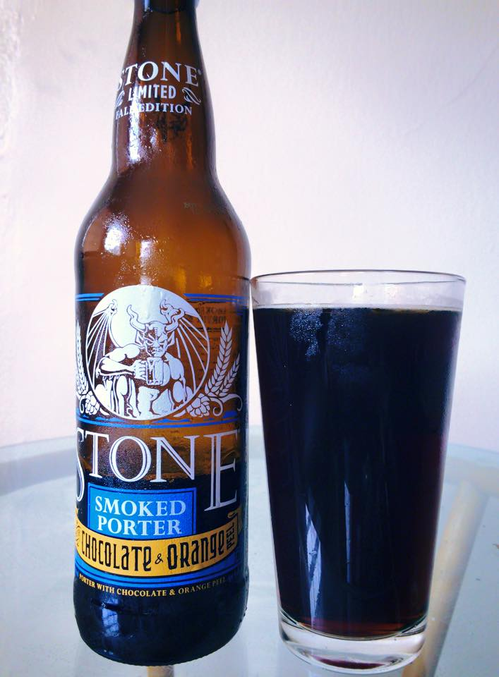 Stone Smoked Porter with Orange Peel vía Guillermo Correa en Facebook