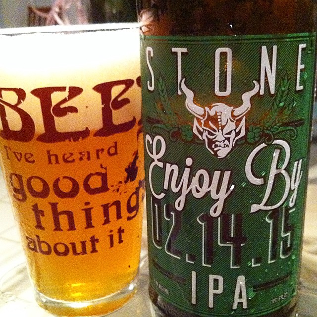 Stone Enjoy By 02.14.15 vía @apaman8 en Instagram