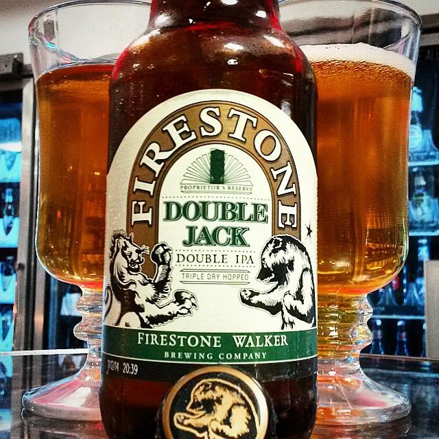 Firestone Double Jack Double IPA vía @valdorm en Instagram