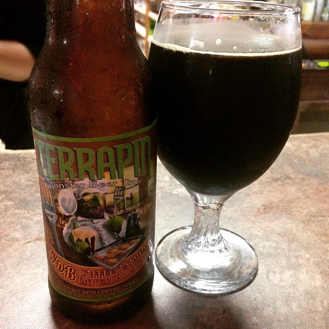 Terrapin Wake and Bake Oatmeal Stout vía @lmv30 en Instagram