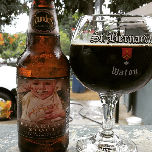 Founders Breakfast Stout vía @cracker8110 en Instagram