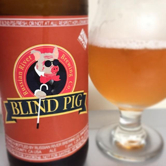 Russian River Blind Pig IPA vía @j_sanmurphy en Instagram