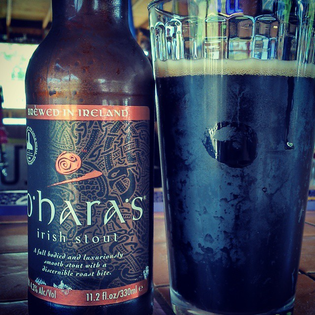 O'Hare's Irish Stout vía @cracker8110 en Instagram