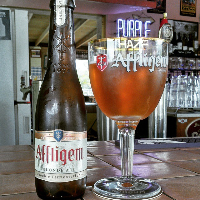 Affligem Blonde Ale vía @cracker8110 en Instagram