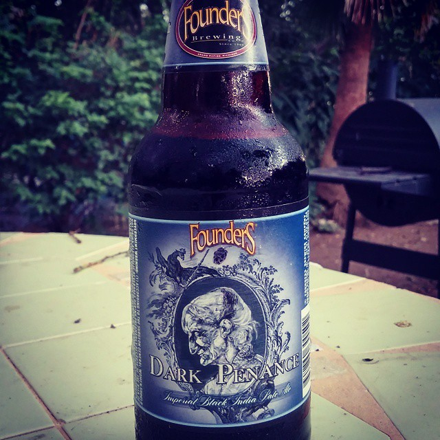 Founders Dark Penance Black IPA vía @cracker8110 en Instagram