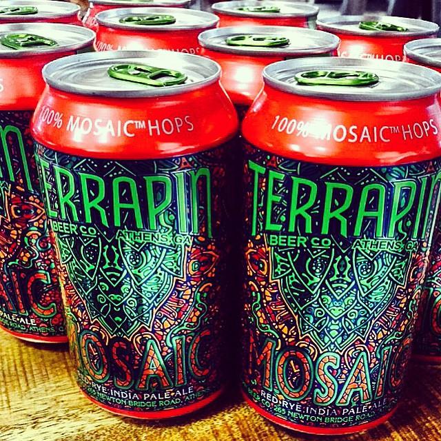 Terrapin Mosaic Red Rye IPA vía @shell65infanteria en Instagram