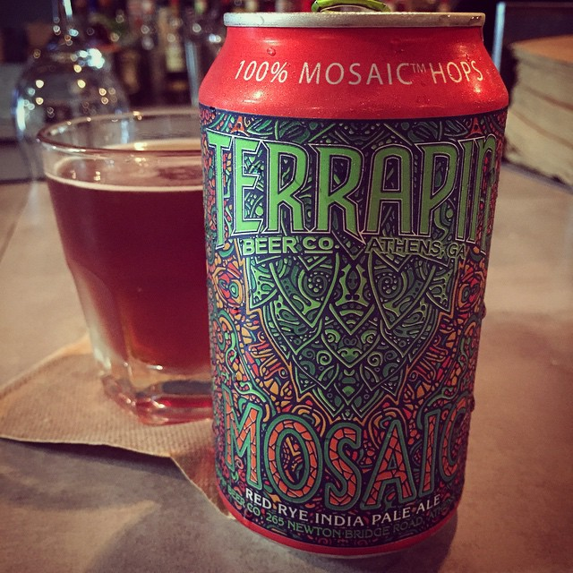 Terrapin Mosaic Red Rye IPA vía @mona_lisapr en Instagram