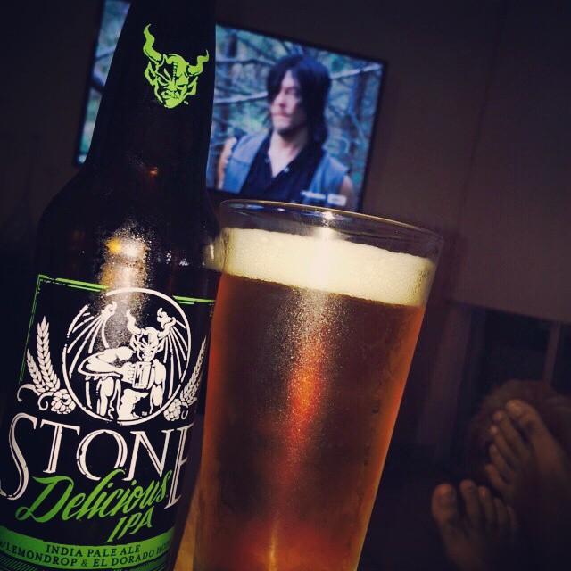 Stone Delicious IPA vía @lebronjavier en Instagram