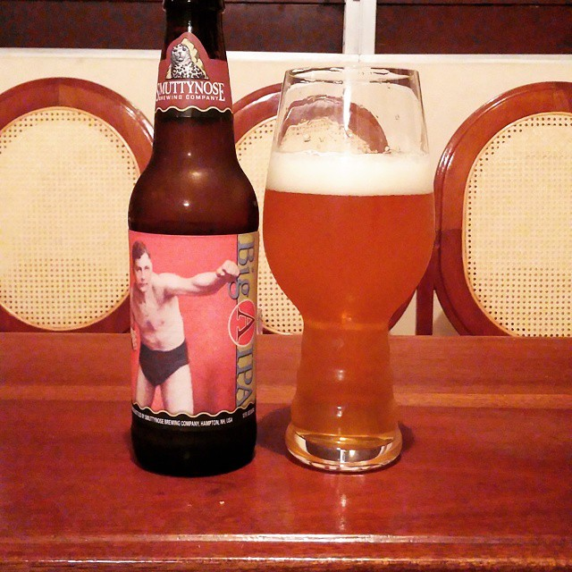 Smuttynose Big A IPA vía @cracker8110 en Instagram
