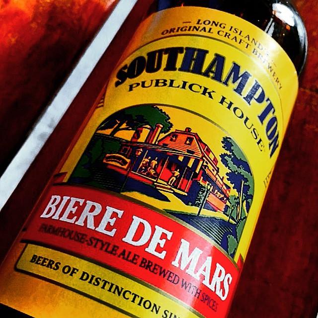 Southampton Biere de Mars vía @shell65deinfanteria en Instagram