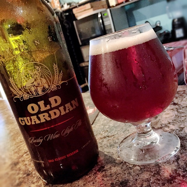 Stone Old Guardian Barley Wine Ale