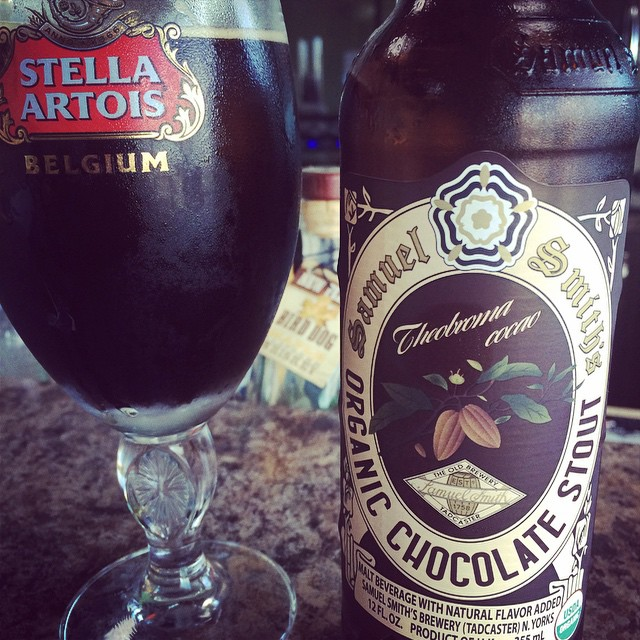 Samuel Smith Organic Chocolate vía @rafaeluzzi en Instagram