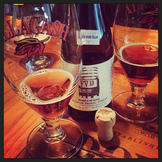 Allagash FV13 Wild Ale vía @thecraftbeergal en Instagram