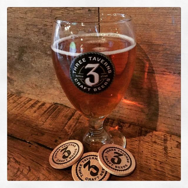 Belgian IPA de Three Taverns vía @thecraftbeergal en Instagram