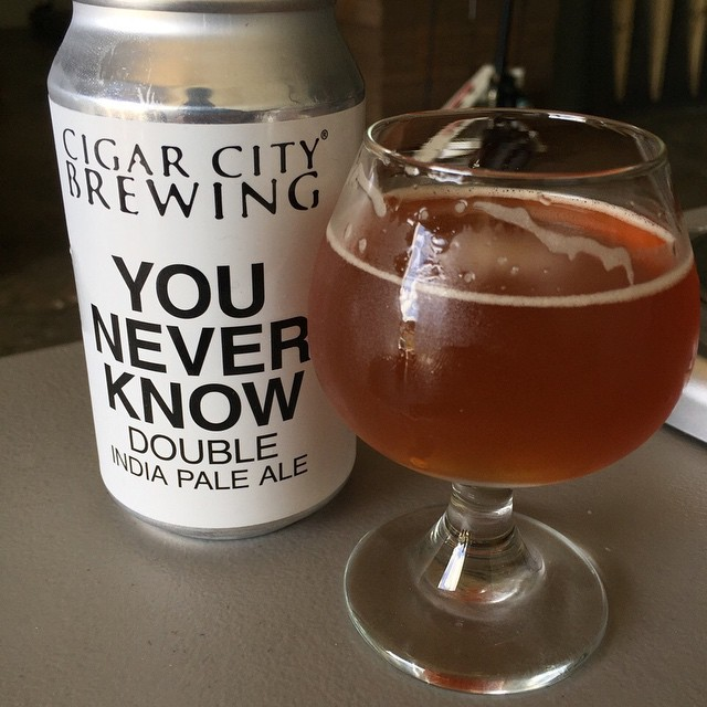 Cigar City You Never Know Double IPA vía @j_sanmurphy en Instagram