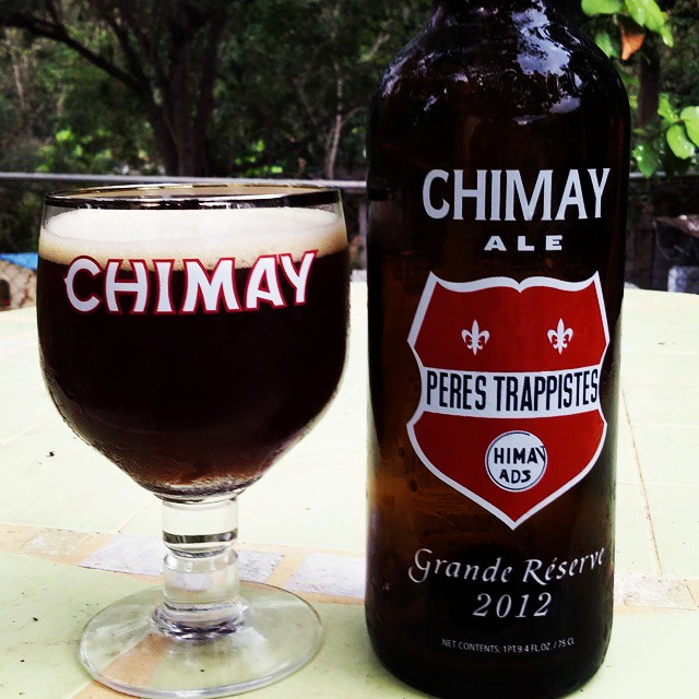 Chimay Grand Reserve 2012 vía @cracker8110 en Instagram