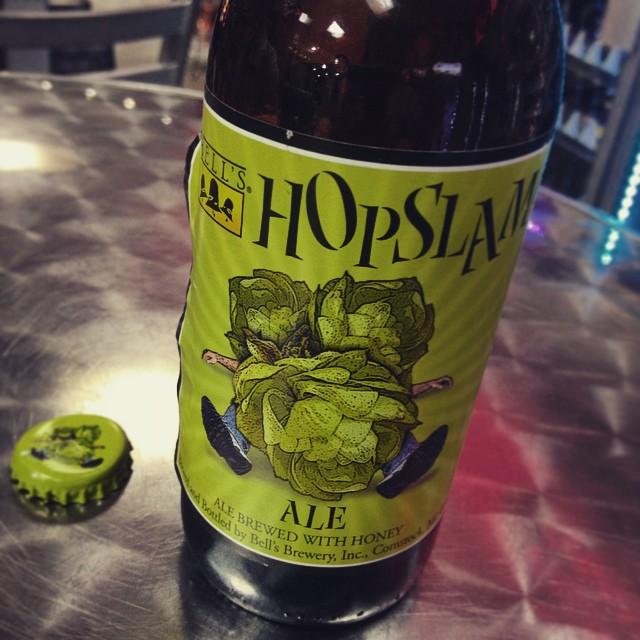 Bell's Hopslam IPA vía @lornajps en Instagram