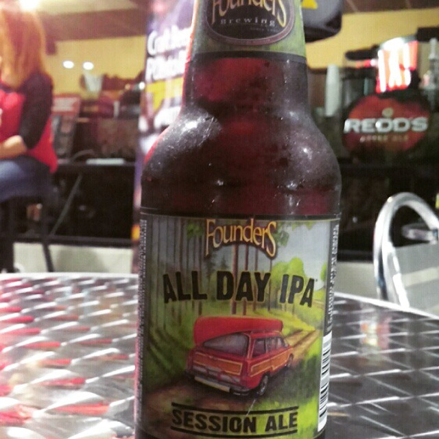 Founders All Day IPA vía @cracker8110 en Instagram