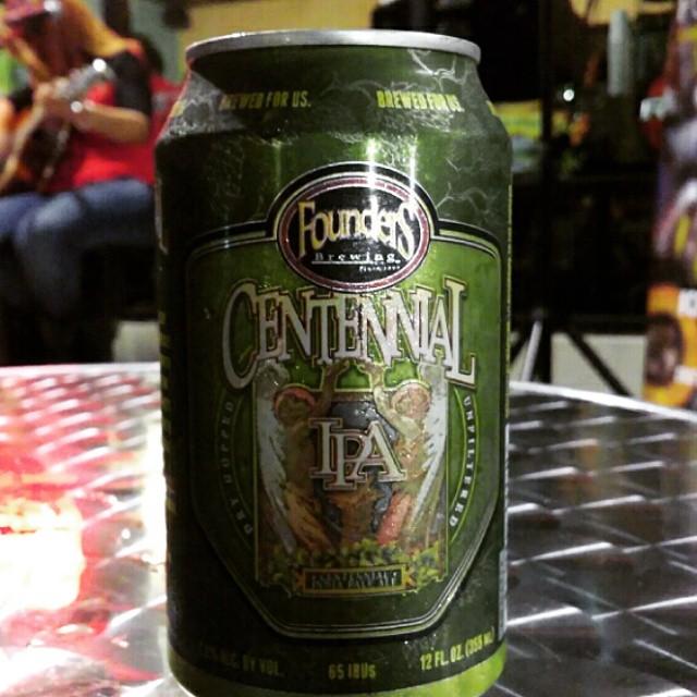 Founders Centennial IPA vía @cracker8110 en Instagram