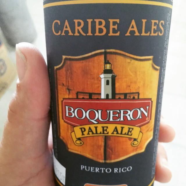 Boquerón Brewing Pale Ale vía @beertender01 en Instagram