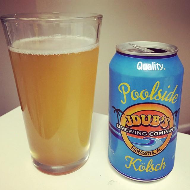 Poolside de Jdub's Brewing Company vía @mauricioh77 en Instagram