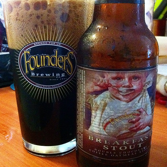 Founders Breakfast Stout vía @apaman8 en Instagram