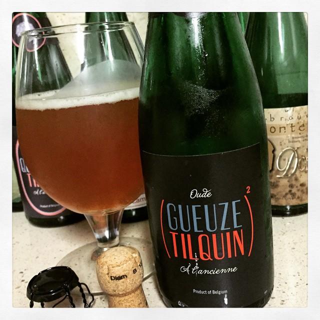 Oude Gueuze Tilquin à L'Ancienne vía @thecraftbeergal en Instagram
