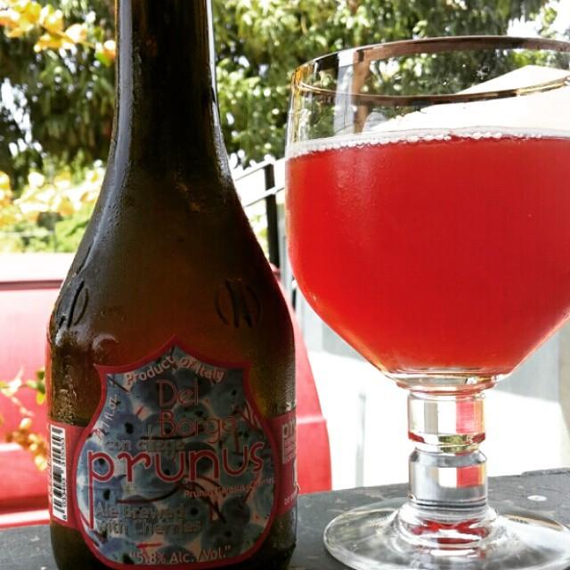 Birra del Borgo Prunus vía @cracker8110 en Instagram